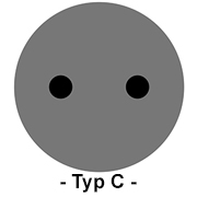 Steckdose Typ C
