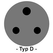 Steckdose Typ D