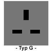 Steckdose Typ G