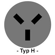 Steckdose Typ H