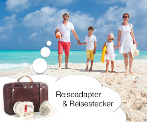 Reiseadapter und Reisestecker - Medium Rectangle